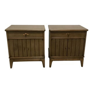 "Broyhill ""Expressions"" Nighstands, Pair"