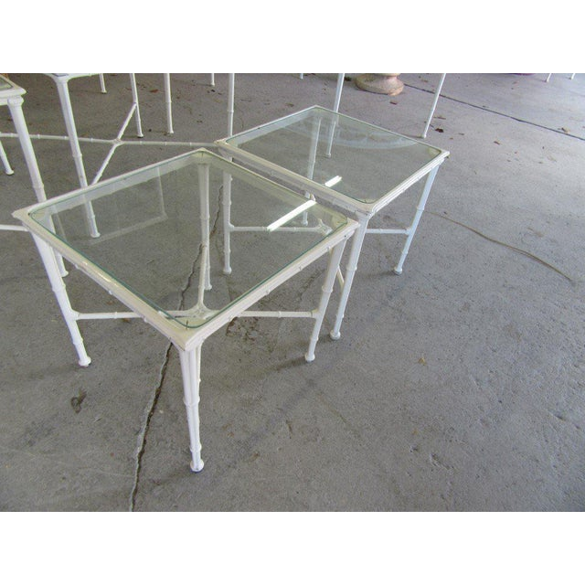 Late 20th Century Brown Jordan Side Tables - a Pair For Sale - Image 5 of 8