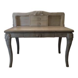 The Platt Collections Carved Limestone Desk