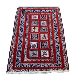 "Vintage Traditional Rug - 2'10""x4'4"""
