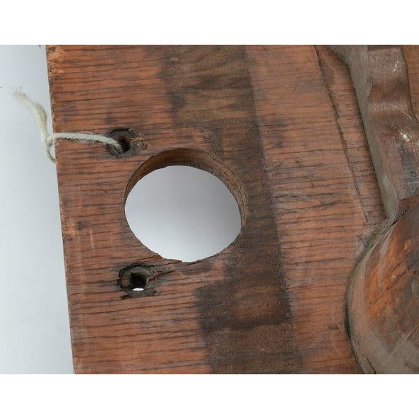 Vintage Industrial Wood Mold - Image 5 of 8