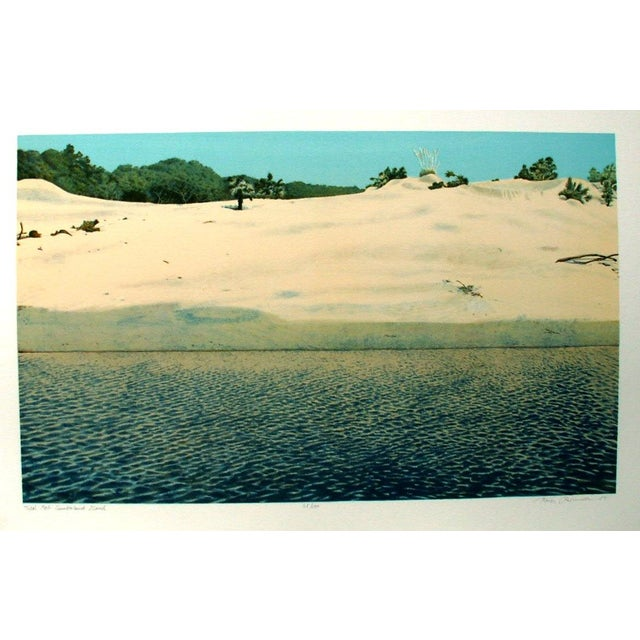 An original lithograph by Keith Rasmussen, Georgia artist, died 2006, number 32/l00 , signed, numbered and dated '85....