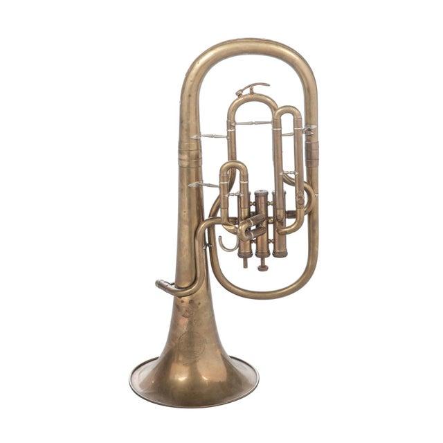 Weltklang Vintage Marching Baritone Horn For Sale