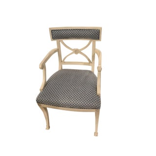 Early 21st Century Schumacher Westminster Armchair- Sample For Sale