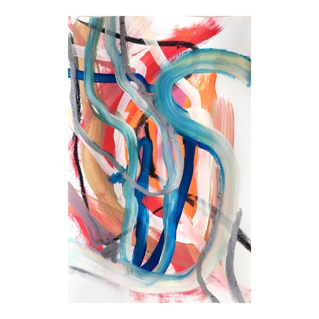 Day 88 Original Abstract Paining by Jessalin Beutler For Sale