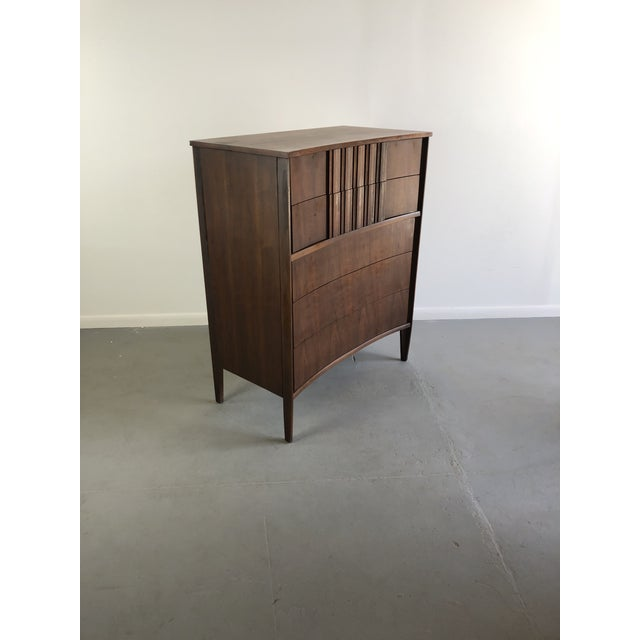 Edmond Spence Tall Dresser in Walnut, Sweden This is a walnut storage cabinet used as a dresser, sideboard or office...