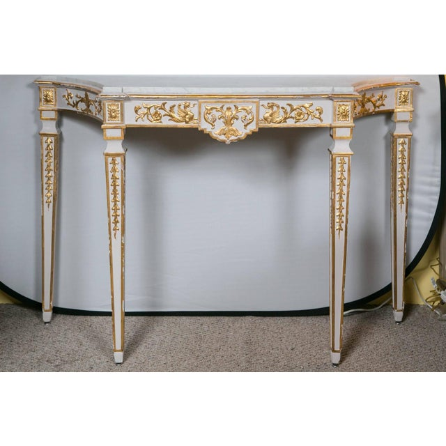 Italian Neoclassical Consoles - A Pair - Image 2 of 7