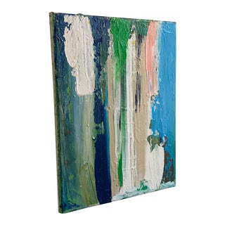 Acrylic on Canvas Abstract Painting by Matthew Izzo For Sale