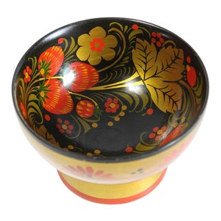 Russian Footed Strawberry Bowl For Sale