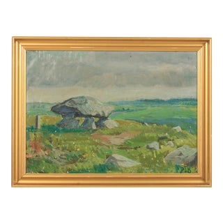 Landscape With Hunebed Monument For Sale