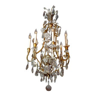 19th Century Early Bagues Chandelier For Sale
