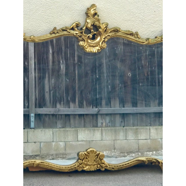 Antique Italian Rococo Gold Gilded Mirror - Image 3 of 10