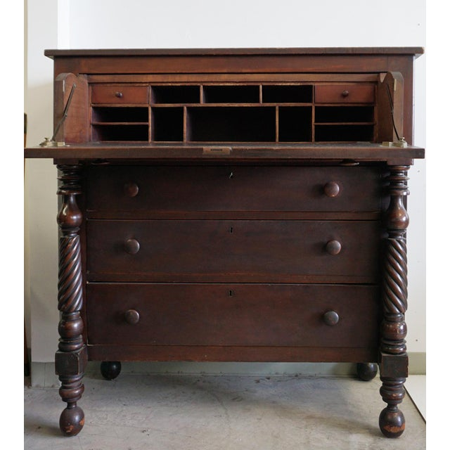 Unique 1800s Chest of Drawers For Sale - Image 4 of 12