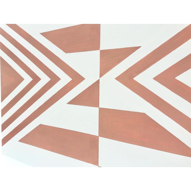 Contemporary Geometric Hard-Edge Painting by Natasha Mistry For Sale - Image 4 of 10
