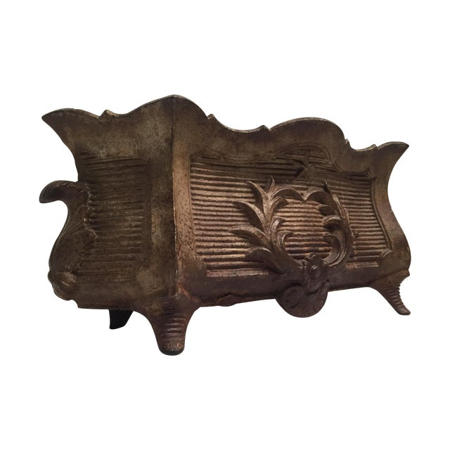 Antique Federal-Style Iron Planter - Image 1 of 6