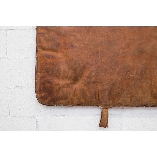 Vintage Leather Gymnastics Mat - Image 8 of 8