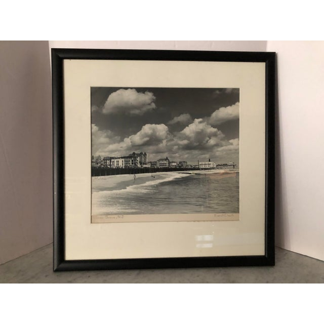 Vintage Black and White Photograph of Ocean Grove, New Jersey For Sale - Image 12 of 13