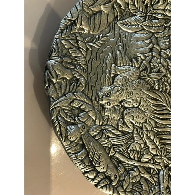 Arthur Court Arthur Court Jaguar Plate For Sale - Image 4 of 10