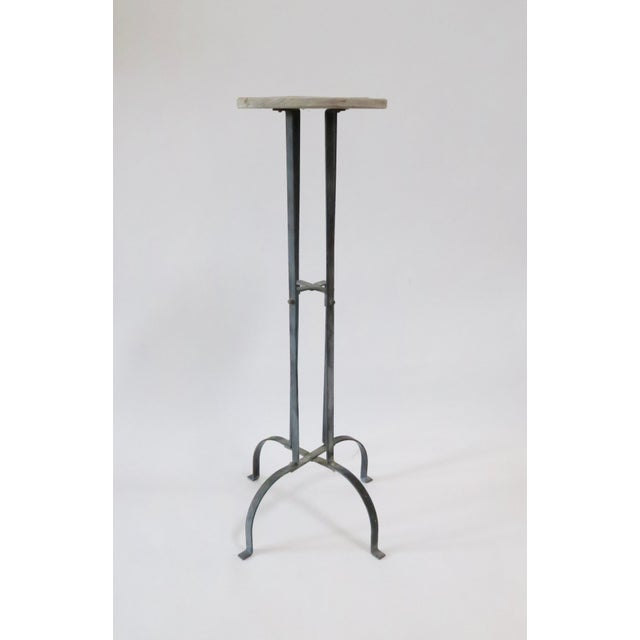 Vintage Wood & Metal Plant Stand - Image 2 of 6