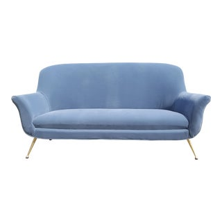 Italian Mid-Century Sofa For Sale