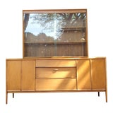 Image of Mid-Century Modern Drexel Parallel China Cabinet For Sale