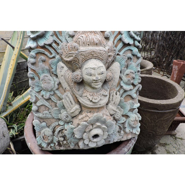 Anonymous Hand Carved Balinese Water Fountain For Sale - Image 4 of 6