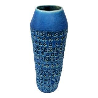 Tribal Inspired Embossed Vase For Sale