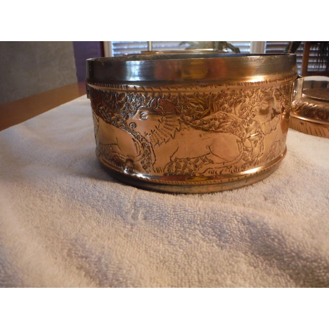 "Vintage Copper Clad ""Tiffin"" or ""Dabba"" - Image 8 of 9"