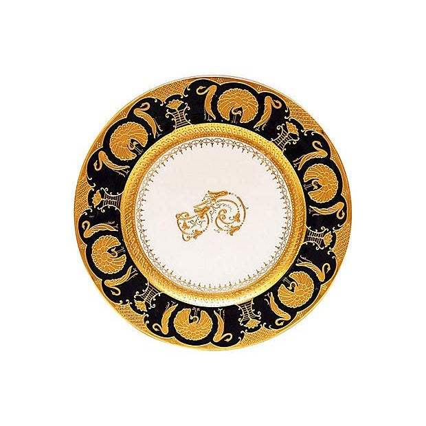 Gilt Decorated Chargers - Set of 11 - Image 2 of 5