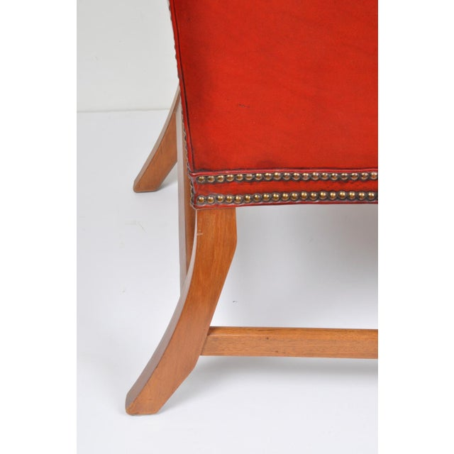 Wingback Chair, England For Sale - Image 9 of 12