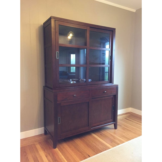 Crate Barrel Dining Room Hutch