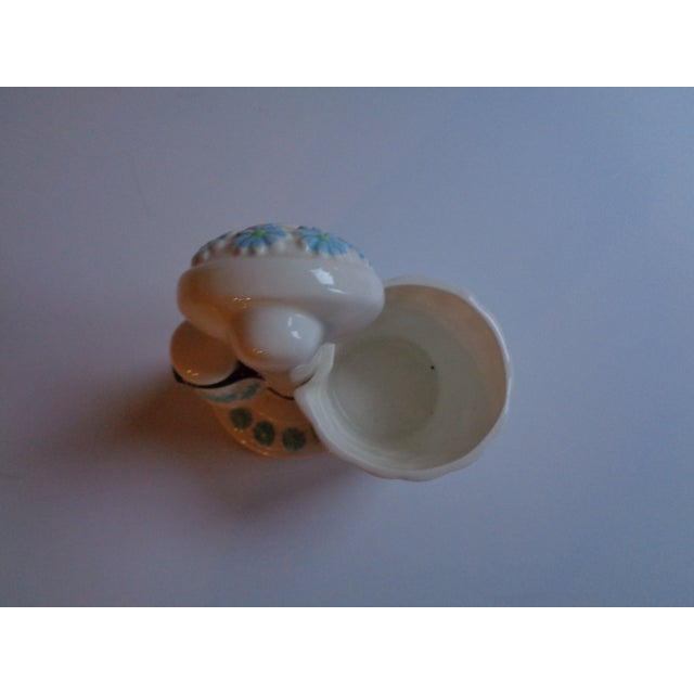 Mid-Century Ceramic Telephone Pencil Cup For Sale - Image 4 of 6