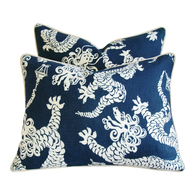 Lee Jofa Lilly Pulitzer Tail Lights Fabric Pillows Pair Chairish