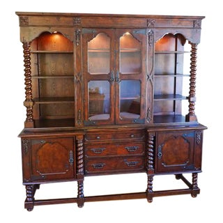 Solid Wood Scottsdale Clemente Hutch China Cabinet