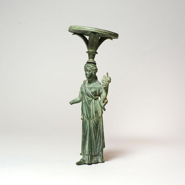 Please update measurements. In antiquity, even everyday household objects could achieve an astounding beauty. Here...