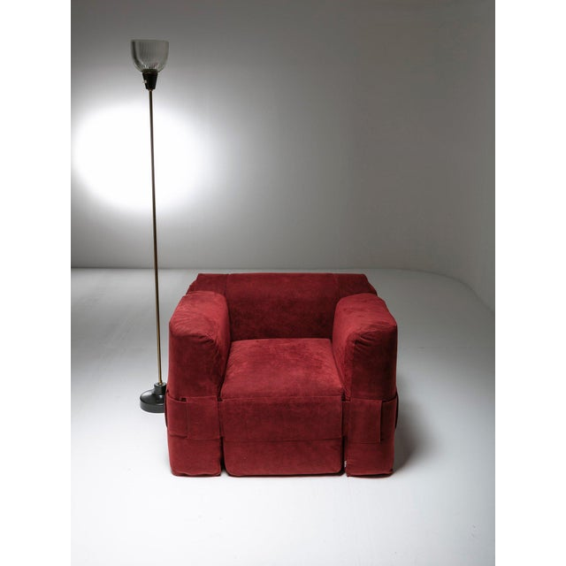 '932' Easy Chair by Mario Bellini for Cassina For Sale - Image 6 of 7
