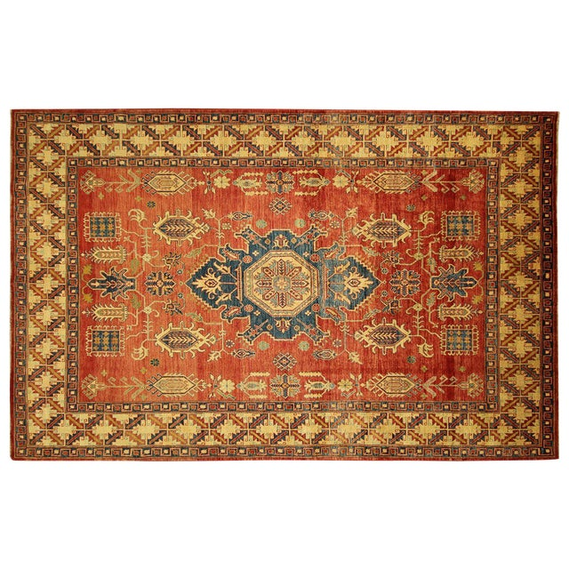 "Mojave Collection Kazak Rug - 7'5"" x 11'5"" - Image 1 of 11"