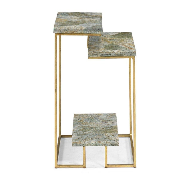 Modern Kenneth Ludwig Chicago Griffin Side Table For Sale - Image 3 of 4