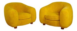 Image of Animal Skin Accent Chairs
