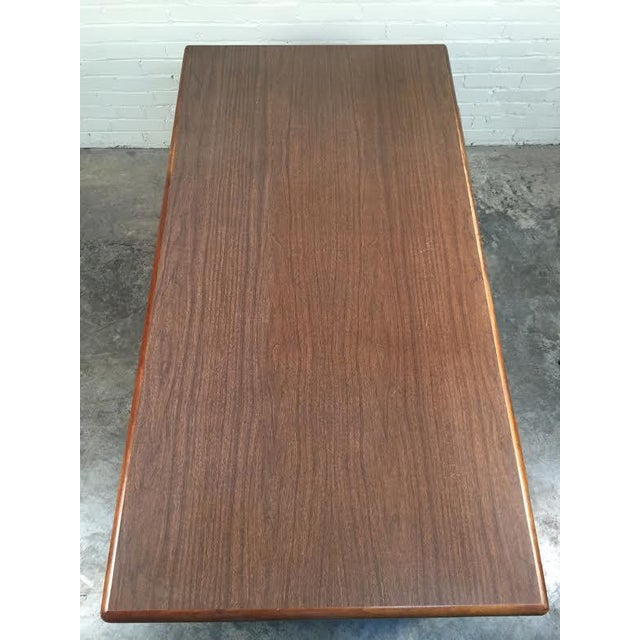 Jasper Mid-Century Modern Walnut Desk - Image 8 of 8