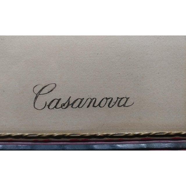 Louis Icart -Casanova - Original 1920s Lithograph -Pencil Signed - Image 8 of 11