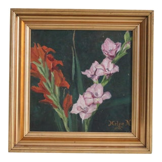 German Floral Oil Study
