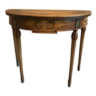1920s Italian Elgin A. Simonds Console Table For Sale