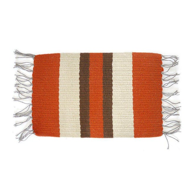 Vintage Woven Table Runner For Sale In Los Angeles - Image 6 of 6