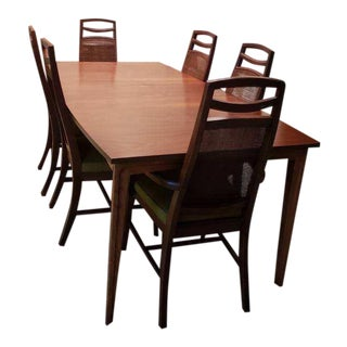 Mid Century Dining Set For Sale