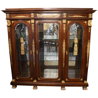 19th Century Empire Armoire For Sale