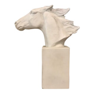 Horse Head Hannibal Rosenthal Statue by Albert Hussman For Sale