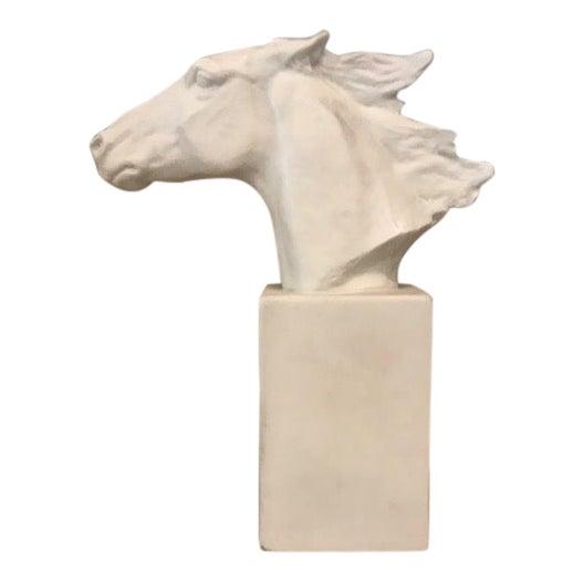 Horse Head Hannibal Rosenthal Statue by Albert Hussman For Sale