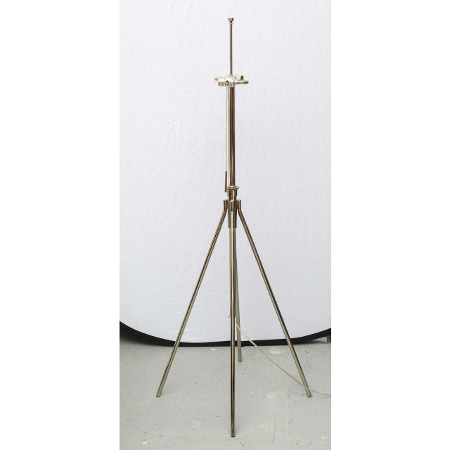 Chrome Floor Lamp, Italy 1975 For Sale - Image 4 of 9