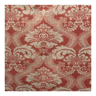 Nina Campbell Meridith in Coral Osborne Fabric - 9 Yards For Sale